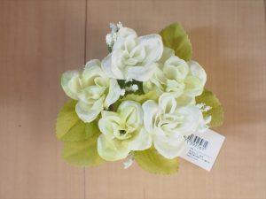 【手作りナチュラル系リングケース】セリア 造花