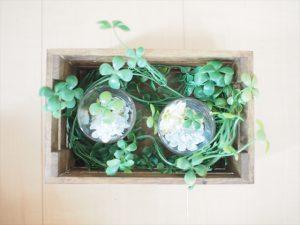 【手作りナチュラル系リングケース】蔦を敷き詰める